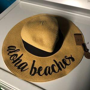 "NWT ""Aloha Beaches"" sunhat"
